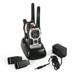 Motorola 27 Mile Range 22-channel Frs/gmrs 2-way Walkie Talkie Radio Mj27or