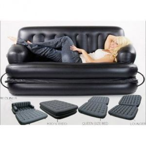 Buy Air Sofa Bed, Sofa Cum Bed With Air Pump(5 In 1 Air Sofa Bed) online