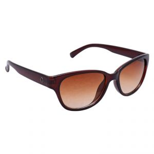 Buy Optical Express Cateye Brown Female Sunglass online