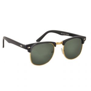 Buy Clubmaster Sunglasses Googles Black & Golden With Uv400 Lens For Women online
