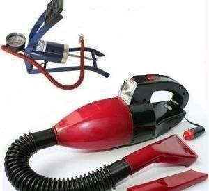 Car Vacuum Cleaner With Foot Pump