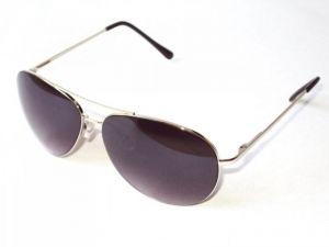 55d60dbbcbc Buy Indmart Silver Aviator Black Lenses Sunglasses Model Online ...