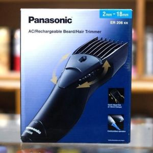 Buy Panasonic Er206kk Shaver Cord / Cordless Rechargable Hair Beard Trimmer online