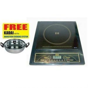 Buy Heavy Duty Induction Cooker With Steel Kadai online
