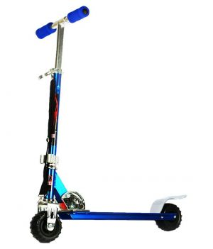 Buy Indmart Kids Big Scooter Scooty Tractor Wheel Blue Finish online