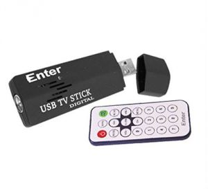 Buy Enter USB TV Tuner Card Thumb Size With Remote Control online