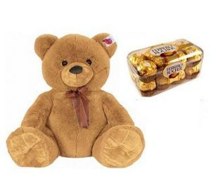 Buy Ferro Rocher N Brown Teddy Combo online