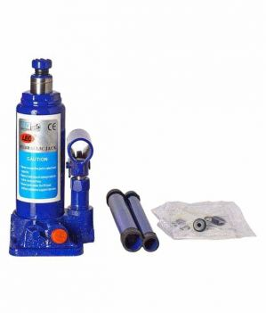 Buy Indmart 3 Ton Hydraulic Bottle Jack And Tyre Puncher Repair Kit Combo online