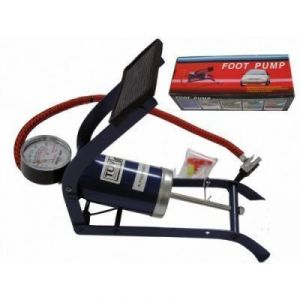 Buy Cm Treder Mini Multi-purpose Foot Pump Air For Bike, Car, Toys, Football online