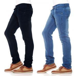 Buy Men`s Set Of 2 Denims Jeans online