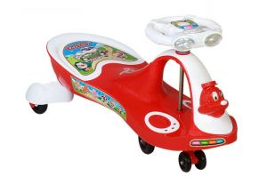 Buy Playtool Duck Swing Car Light And Music Red online