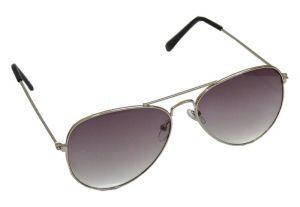 Buy Affaires Aviator Sunglass Silver-grey A-346 online