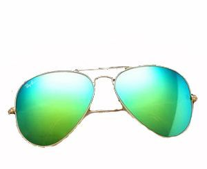 Buy Trendy Stylish Green Mirror Sunglasses online