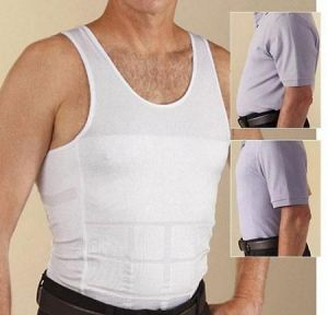 Buy Slimming Vest Top For Men - Slim N Lift - Men''s Shirt Body Shapers online