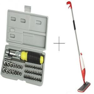 Buy Buy Spray Mop With Free 41 PCs Toolkit Screwdriver Set online