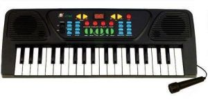 Buy 37 Keys Musical Electronic Pian Keyboard Player Microphone Mic Gifts Karaok online
