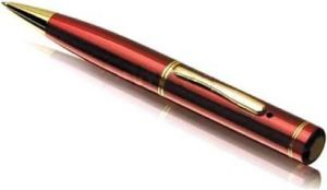 Buy Being Trendy Spy Gadget Mp42 Red HD 4GB In-built Pen Spy Camera (5 Mp) online