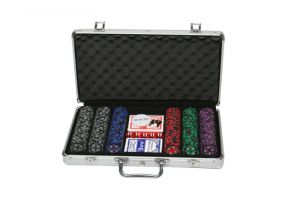 Buy Sands Incorporation 300 Denomination Clay Chips Poker Game Set online