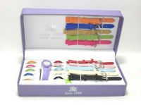 Buy 11 Multi Dials & Strap Ladies Wrist Watch Gift Set online