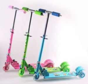 Buy Kids Scooty Foldable 3 Wheels Mini Scooter For Children online