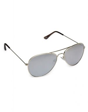 Buy Vicbono Aviator Sunglasses - Silver online