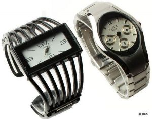 Buy Stylish Combo - Mens Watch And Womens Watch -073 online