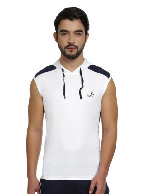 Buy Fitz Mens Micro Polyester T-shirt (product Code - S16ts7028ewh) online