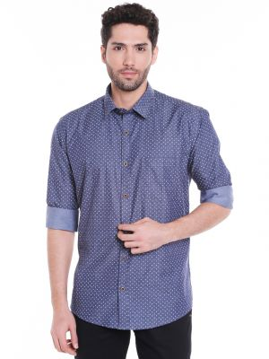 Buy Solemio Cotton Shirt For Mens online