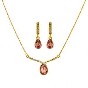 Buy Sri Jagdamba Pearls Gleem Pendant Set Code 8781 online