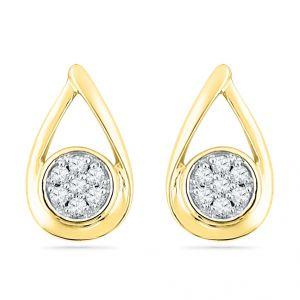 Buy Jpearls Love Bugs Diamond Earrings online