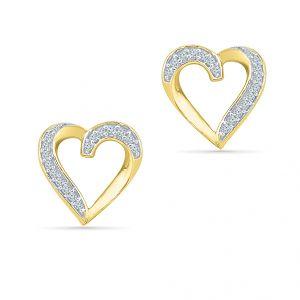 Buy Sri Jagdamba Pearls Shweta Diamond Earrings-eh021077 online
