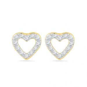 Buy Sri Jagdamba Pearls Love Crush Diamond Earrings-eh029026 online