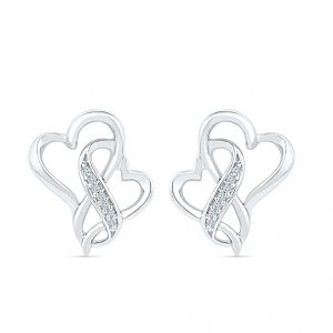 Buy Sri Jagdamba Pearls Angel Of My Heart Diamond Earring-eh074966 online