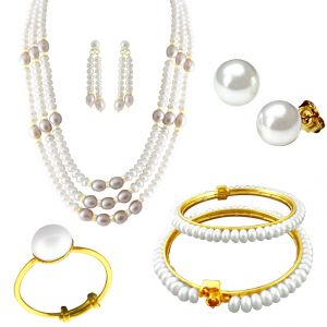 Buy Jpearls Mothers Day Special Combo Set online