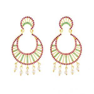 Buy Multicolor Graceful Earrings Code-jpapl-17-044 online