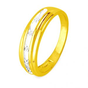 Buy Jpearls Light Diamond Finger Ring For Men online