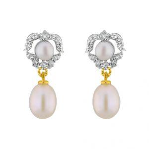 Buy Jpearls Marlyn Czpearl Earrings online