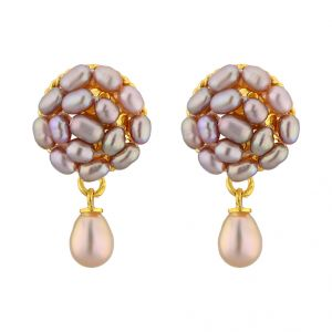 Buy Jpearls Elegance Drop Pearl Earrings online