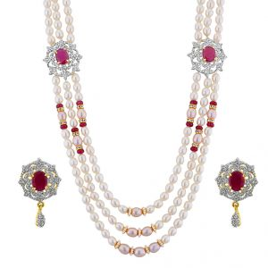 Buy Jpearls My Princess Necklace Set online