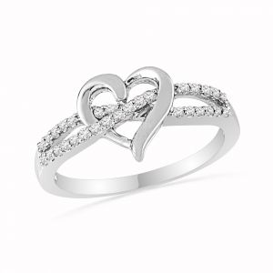 Buy Jpearls Mad For Diamond Finger Ring online