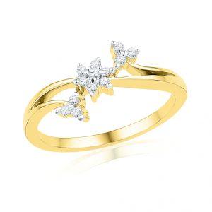 Buy Jpearls Czarina Diamond Finger Ring online