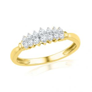 Buy Jpearls Miss-diana Diamond Finger Ring online