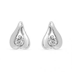 Buy Jpearls Luvina Diamond Earrings online