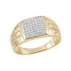 Buy Jpearls Sightly Diamond Finger Ring For Men Online Best Prices