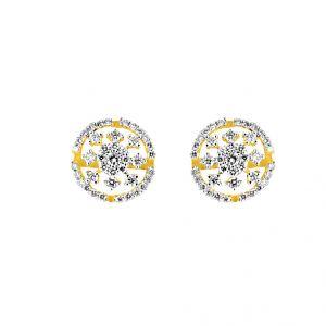 Buy Jpearls Flora Diamond Earring online