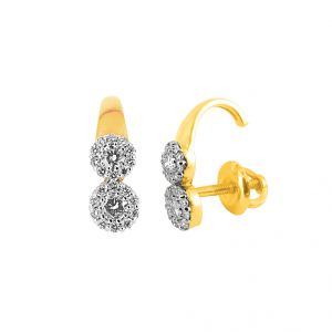 Buy Jpearls Karis Diamond Earring online