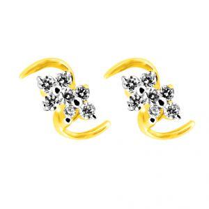 Buy Jpearls Aurelia Diamond Earring online