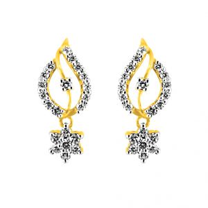 Buy Jpearls Shona Diamond Earrings online
