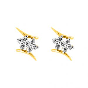 Buy Jpearls Tejul Diamond Earring online