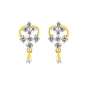 Buy Jpearls Panit Diamond Earring online